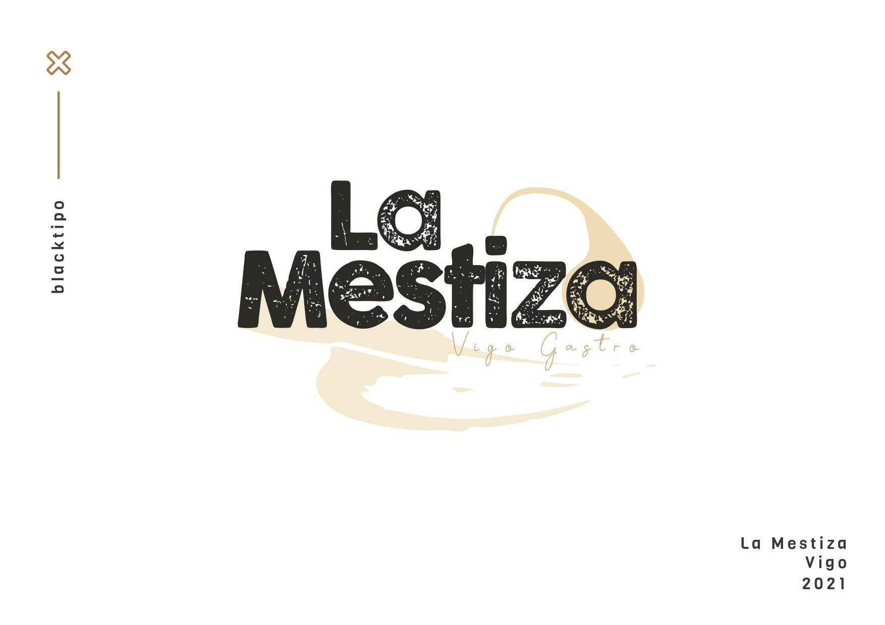 Logotipo La Mestiza gastrobar